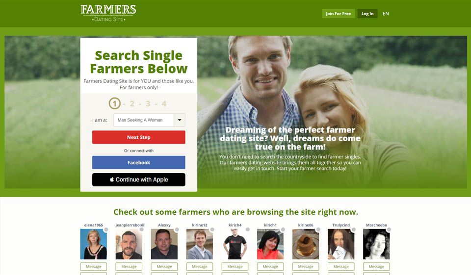 Farmers Dating Review